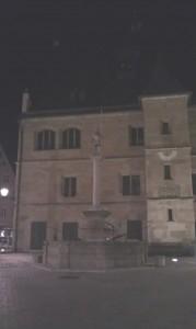 Das alte Rathaus von Weißenburg.